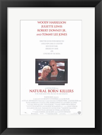 Framed Natural Born Killers Print