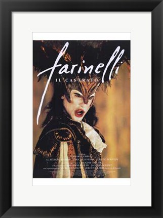 Framed Farinelli Print