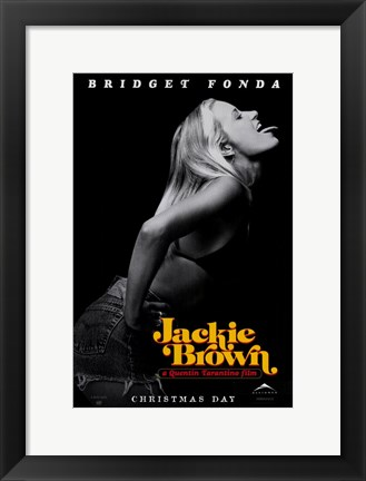 Framed Jackie Brown Bridget Fonda Print