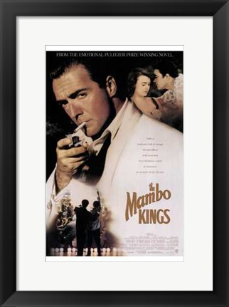 Framed Mambo Kings Print