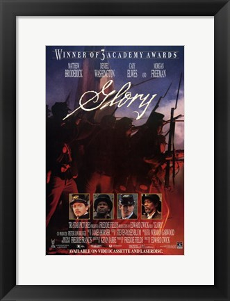 Framed Glory Cary Elwes Print