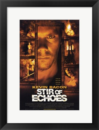Framed Stir of Echoes Print