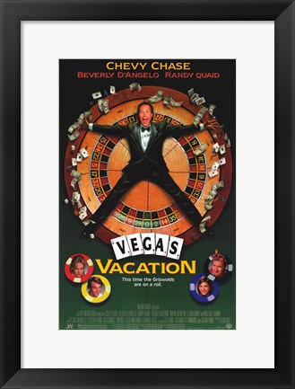 Framed Vegas Vacation Print