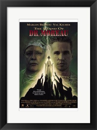 Framed Island of Dr Moreau Print