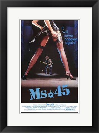 Framed Ms 45 Print
