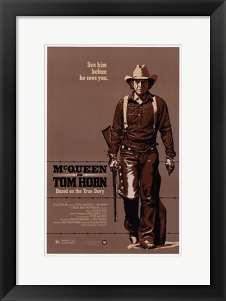 Framed Tom Horn Print