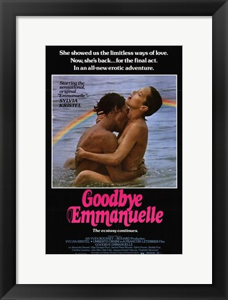 Framed Goodbye Emmanuelle, c.1978 Print