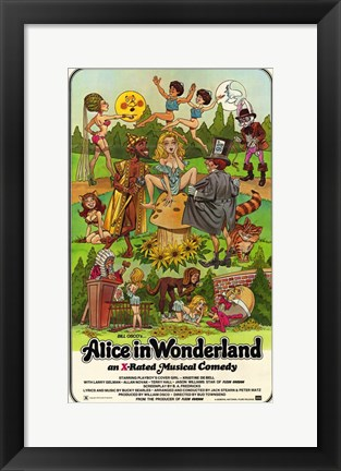 Alice in wonderland movie adult and