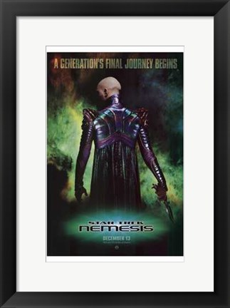 Framed Star Trek: Nemesis Print