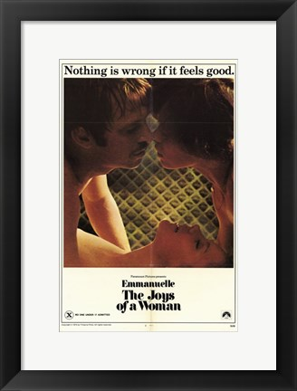 Framed Emmanuelle - Joys of Woman, c.1976 Print