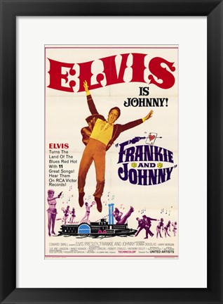 Framed Frankie and Johnny Print