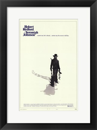 Framed Jeremiah Johnson - Robert Redford Print