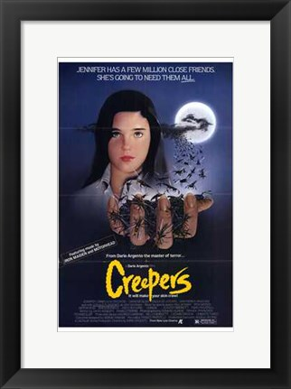 Framed Creepers Print