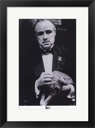 Framed Godfather the Don Print