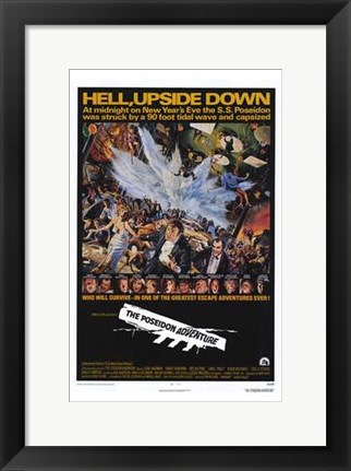 Framed Poseidon Adventure Print