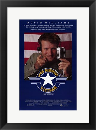 Framed Good Morning Vietnam Print