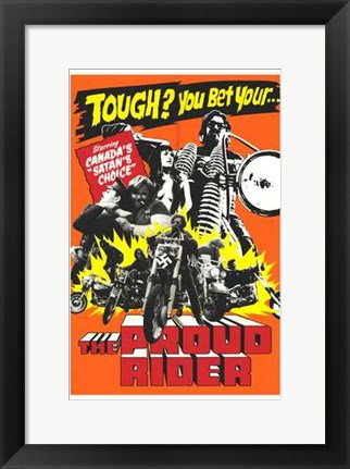 Framed Proud Rider Print