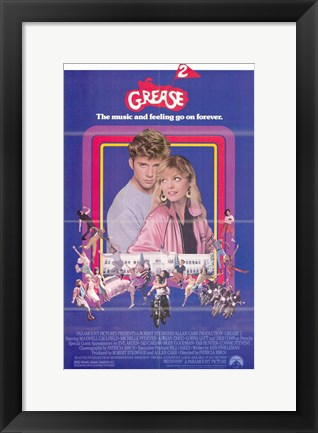 Framed Grease 2 Print