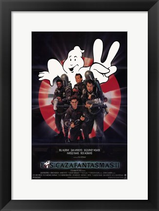 Framed Ghostbusters 2 (spanish) Print
