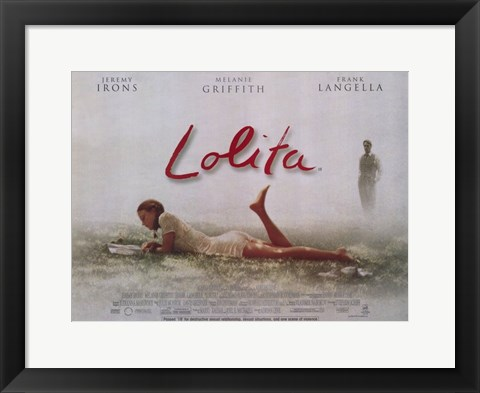 Framed Lolita Irons Griffith Langella Print
