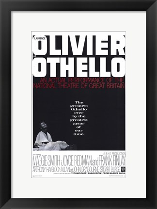 Framed Othello - Olivier Print