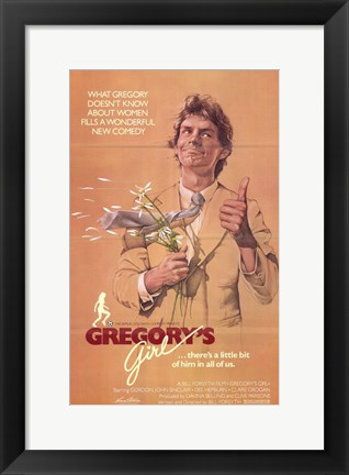 Framed Gregory's Girl Print