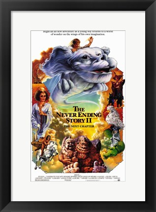 Framed Neverending Story 2: the Next Chapter Print
