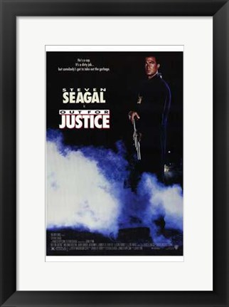 Framed Out for Justice Print