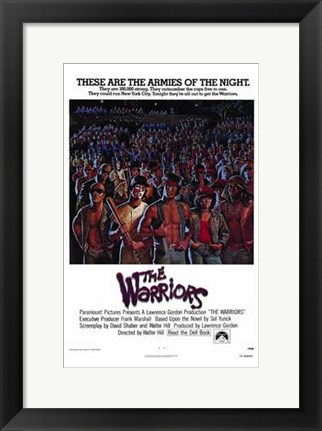 Framed Warriors Armies of the Night Print