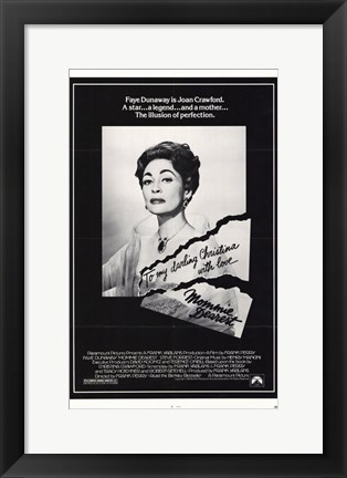 Framed Mommie Dearest Print