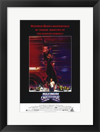 Framed Maximum Overdrive Print