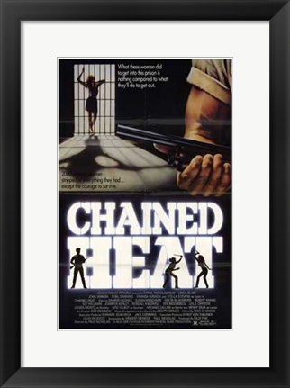 Framed Chained Heat Print