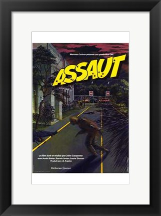 Framed Assault on Precinct 13 Print