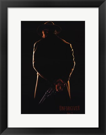 Framed Unforgiven Print