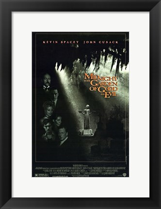 Framed Midnight in the Garden of Good and Evil Print