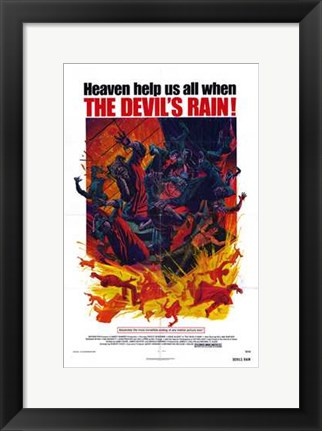 Framed Devil's Rain Print