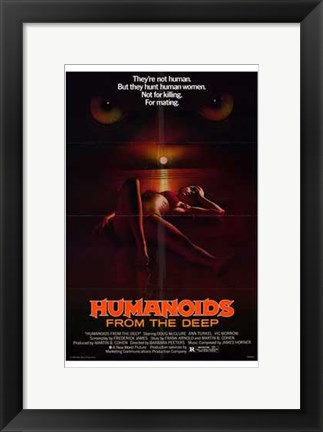 Framed Humanoids from the Deep, c.1980 Print
