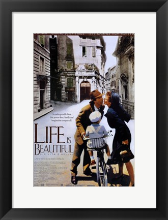Framed Life is Beautiful Cannes Film Festival Print
