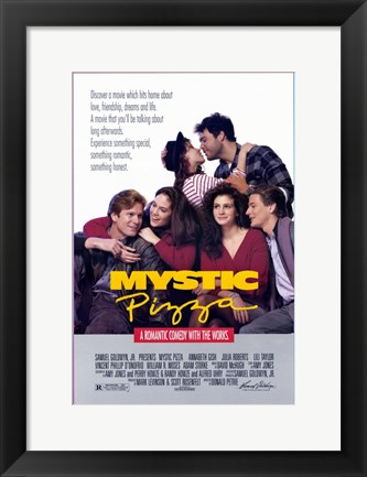 Framed Mystic Pizza Print