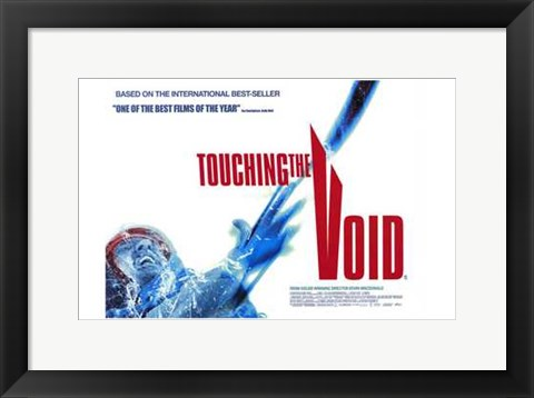 Framed Touching the Void Print
