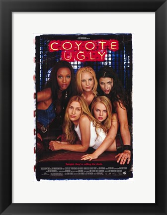 Framed Coyote Ugly Print