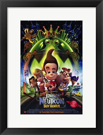 Framed Jimmy Neutron: Boy Genius Film Print