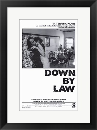 Framed Down By Law Print