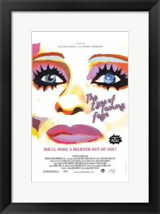 Framed Eyes of Tammy Faye Print