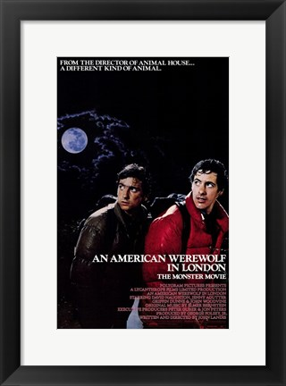Framed American Werewolf in London Print