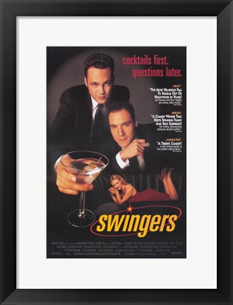 Framed Swingers Print