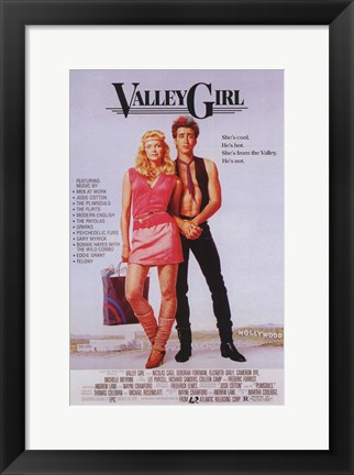 Framed Valley Girl Print