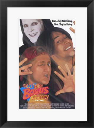 Framed Bill and Ted's Bogus Journey Print