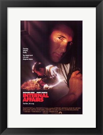 Framed Internal Affairs Print