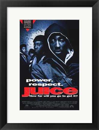 Framed Juice Print